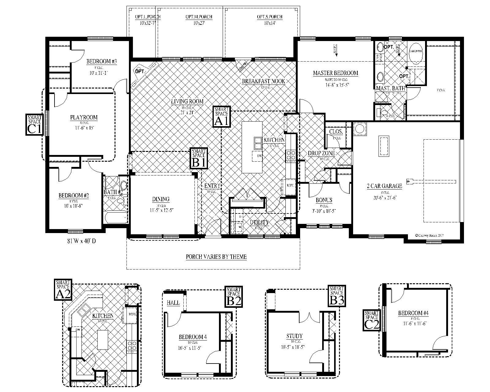 [FLEX PLAN] Hillsboro-II Floorplan