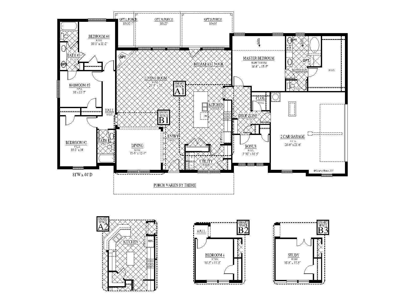 [FLEX PLAN] Highland-II Floorplan