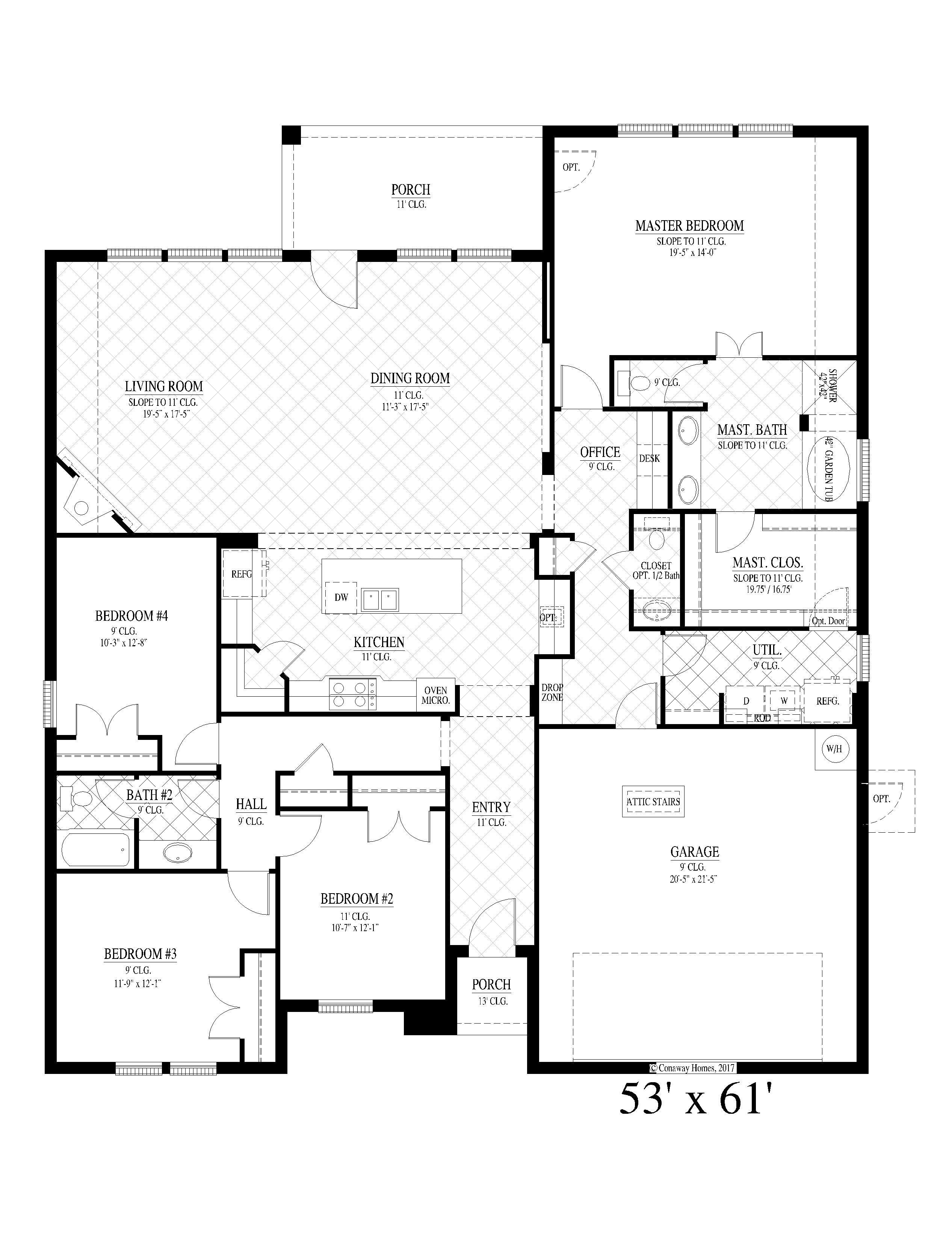 Hamilton-III Floorplan