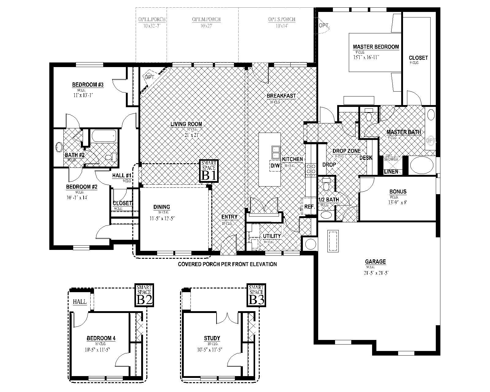 [FLEX PLAN] Hampton II Floorplan