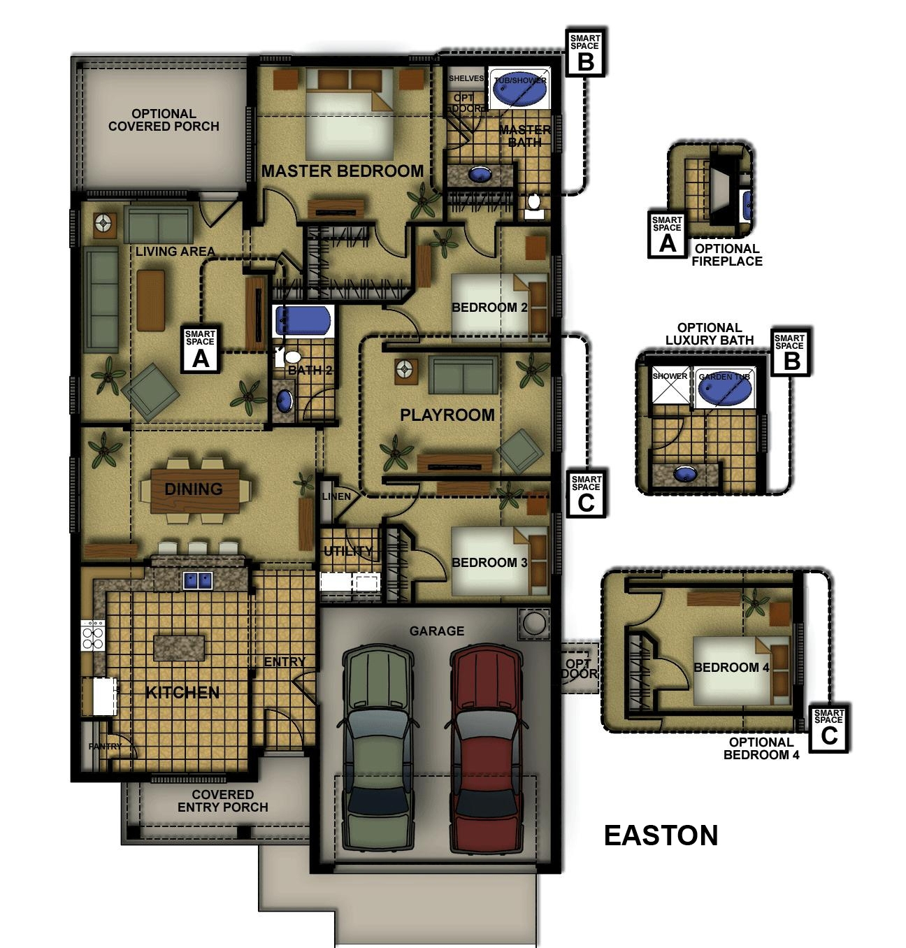 Easton-II Floorplan