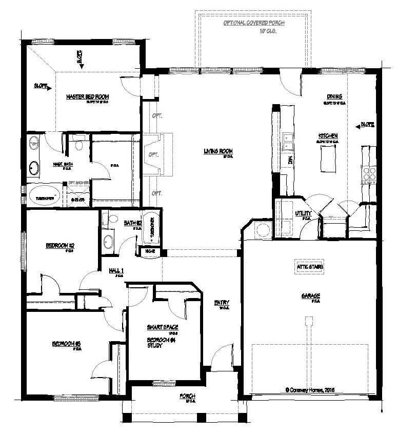Edmond-II Floorplan