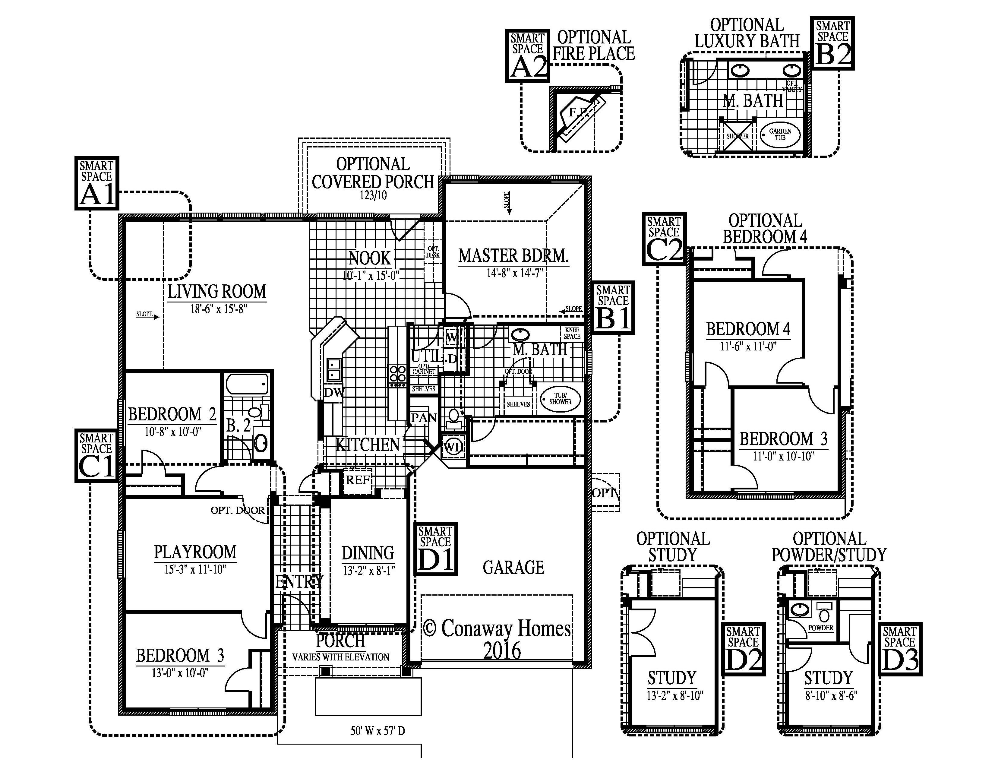 Fairfax-II Floorplan