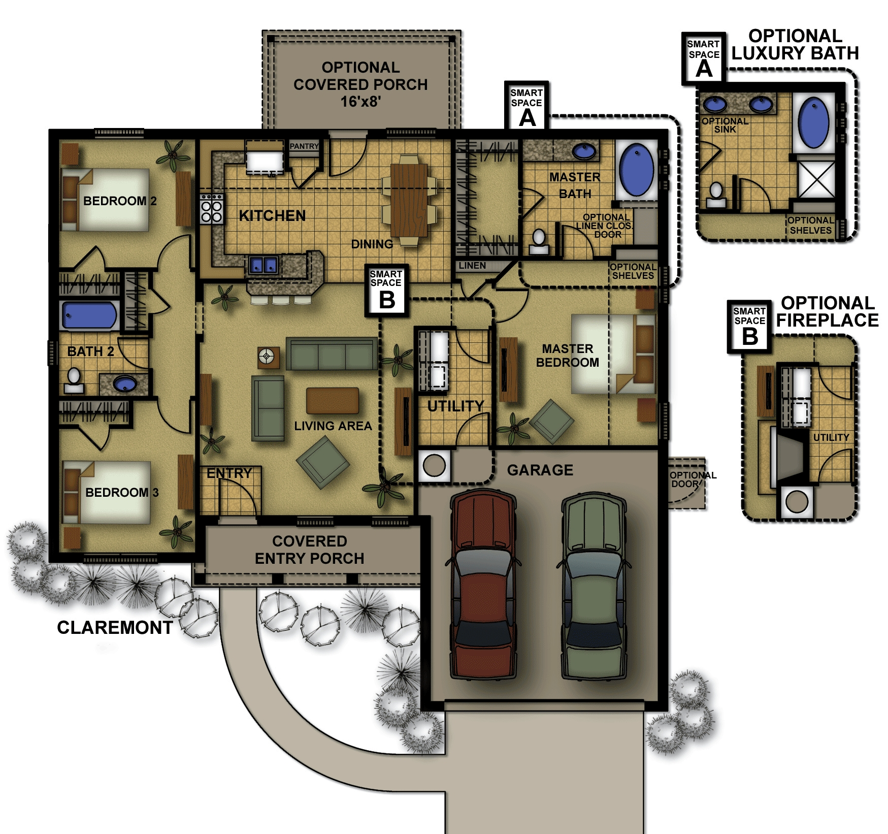 Claremont-II Floorplan